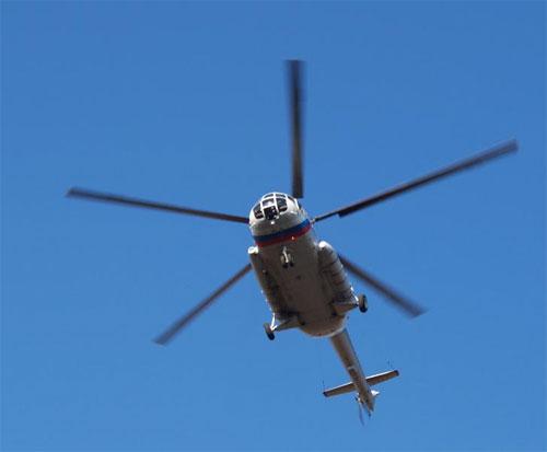 Занимательный полёт вертолёта