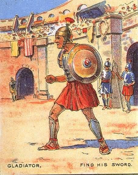 Найти меч гладиатора